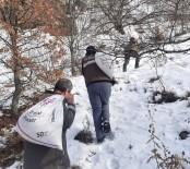 Tunceli'de Yaban Hayvanları İçin Doğaya 6 Ton Yem Bırakıldı