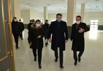 Vali Okay Memiş, Aşık Sümmani Kültür Merkezi'nde İncelemelerde Bulundu