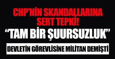 AK Parti Sözcüsü Ömer Çelik'ten Vali ve Kaymakamları 'militan' diyerek hedef alan CHP'li Berhan Şimşek'e sert tepki