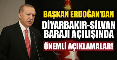 Başkan Erdoğan'dan dev projelerin açılış töreninde önemli açıklamalar