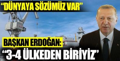 İstanbul Fırkateyni denize indirildi! Başkan Erdoğan: İHA,SİHA üretiminde dünyanın ilk 3-4 ülkesi arasındayız