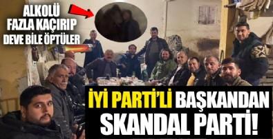 İYİ Parti Aydın İncirliova Belediye Başkanı Aytekin Kara'dan skandal doğum günü partisi!