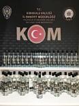 Kırıkkale'de 56 Litre Sahte Etil Alkol Ele Geçirildi