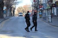 Kısıtlamada Aksaray Sokakları Sessizliğe Büründü