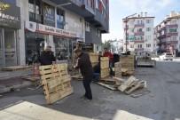 Sokak Hayvanları İçin Atık Tahta Paletlerini Sıcak Yuvaya Dönüştürdüler