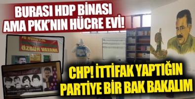Burası PKK'nın hücre evi değil HDP binası!