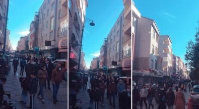 İstanbul'da korkutan kalabalık! Yasağa rağmen herkes dışarıda!
