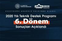 2020 Yılı Teknik Destek Programı 6. Dönem Sonuçları Açıklandı