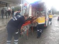 Aniden Fenalaşan Kadını Belediye Sağlık Ekipleri Kurtardı