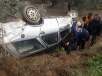 Aydın'da Trafik Kazası Açıklaması 2 Yaralı
