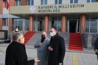 Başkanlardan Milli Eğitim Müdürü'ne Ziyaret