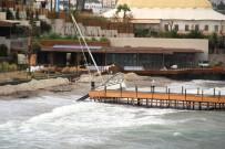 Bodrum'da Fırtına Kabusu Açıklaması Balıkçı Tekneleri Battı, Yelkenli Gulet Karaya Oturdu