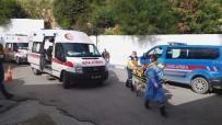 İnşaat İşçileri Taşlarla, Sopalarla Birbirine Girdi, 3 Kişi Yaralandı