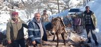 Karla Mücadelede Kesintisiz Hizmet İçin Katır Sırtında Mazot Taşıdılar