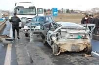 Keşan'da Zincirleme Kaza Açıklaması 1 Ölü