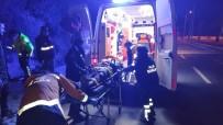 Kuşadası Çevre Yolunda Motosiklet Kazası Açıklaması 1 Ağır Yaralı