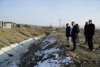 Osmancık OSB'de Derenin Islahına Başlandı