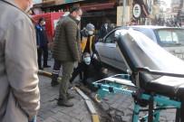Otomobil Yayaya Çarptı Açıklaması 1 Yaralı