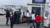 Seyir Halindeki Araçta Kalp Krizi Geçirdi
