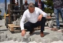 Yunusemre Belediyesi 150 Bin Metrekarelik Parke Taşı Döşedi