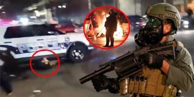 ABD'de bir kez daha karıştı! Polis vatandaşı ezdi! Sokaklar yangın yeri