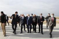 Bakan Elvan, Çukurova Bölgesel Havalimanında İncelemelerde Bulundu