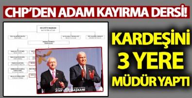 CHP'li başkan belediyeyi aile şirketine çevirdi!