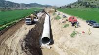 Çine Ve Koçarlı Ovaları Kapalı Sistem Sulama Şebekesine Kavuşacak