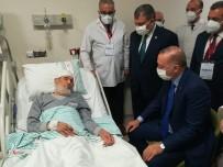 Cumhurbaşkanı Erdoğan'dan Fethi Sekin'in Babası İle Kanaat Önderi Nazırlı'ya Hastanede Ziyaret