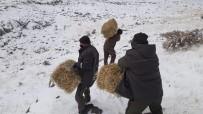 Elazığ'da Yaban Hayatı İçin Yem Desteği Sürüyor