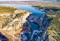 Kartalkaya Barajı Fotoğrafçıların İlgi Odağı Oldu