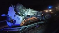 Kırıkkale'de Çekici Takla Attı Açıklaması 1 Yaralı