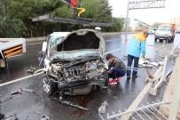 Kuşadası Çevre Yolunda Trafik Kazası Açıklaması 1 Yaralı