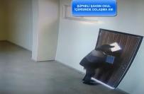 Okuldan Musluk Çalan Hırsız Yakalandı