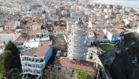 (Özel) 162 Yıllık Şile Feneri'ndeki Restorasyon Çalışmaları Havadan Görüntülendi