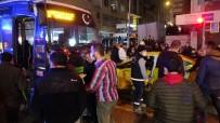 Özel Halk Otobüsü İle Ticari Taksi Çarpıştı Açıklaması 3 Yaralı