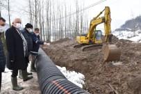 Su Hattı Borusu Kırıldı, Ekipler Seferber Oldu