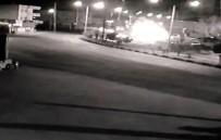 Tırın İkiye Bölündüğü Korkunç Kaza Kamerada
