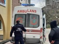 Üzerine Alçıpan Düşen İşçi Yaralandı