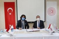 AİÇÜ Rektörü Prof. Dr. Karabulut İle SERKA Genel Sekreteri Dr. Taşdemir Protokol İmzaladı