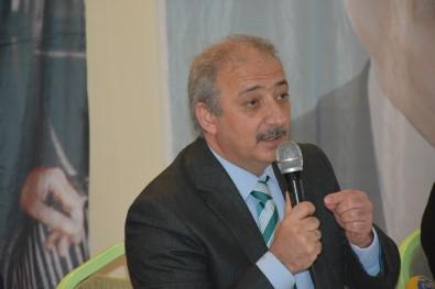 AK Parti İl Başkanı Mete, Marmaris'te İstişarelerde Bulundu