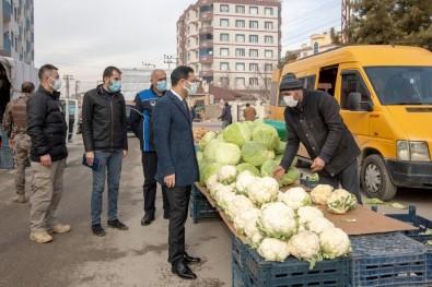 Başkan Vekili Aslan'dan Pazar Esnafına Ziyaret