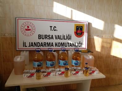 Bursa'da Sahte İçki Operasyonu