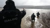 Çanakkale'de Baraj Sularına Kapılan Araç Ve 2 Kişinin Arama Çalışmaları Devam Ediyor