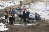 Elazığ'da Otomobil Takla Attı Açıklaması 1 Ölü, 1 Yaralı