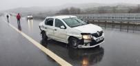 İzmir İstanbul Otobanında Trafik Kazası Açıklaması 5 Yaralı