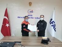 İzmir Valisi Köşger'den Bilecik AFAD Personeline Teşekkür Mektubu