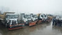 Kar Yağışı Beklentisi Özel İdare Ekiplerini Alarma Geçirdi