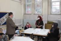 Kaymakam Türköz Okulları İnceledi