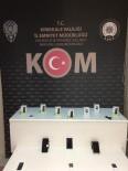 Kırıkkale'de Gümrük Kaçağı Cep Telefonları Ele Geçirildi